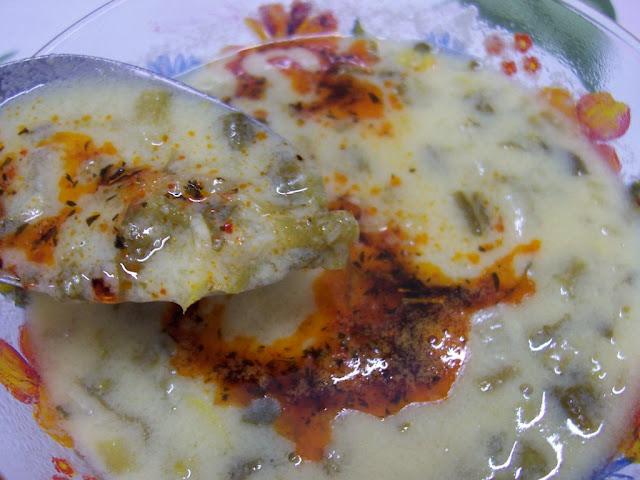 Kök ıspanak çorbası
