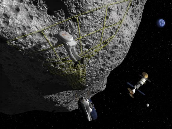 Asteroids Concept Art