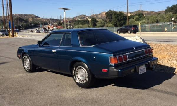Plymouth Sapporo For Sale - Very Rare 1980 Car For Sale $4,200