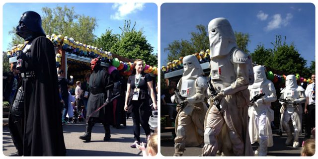 star wars parade legoland