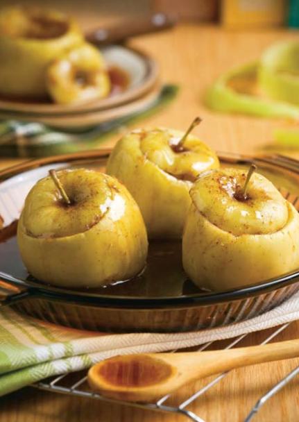 Cinnamon Baked Goldens Recipe