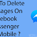 How to Delete Messenger on Facebook on iPhone