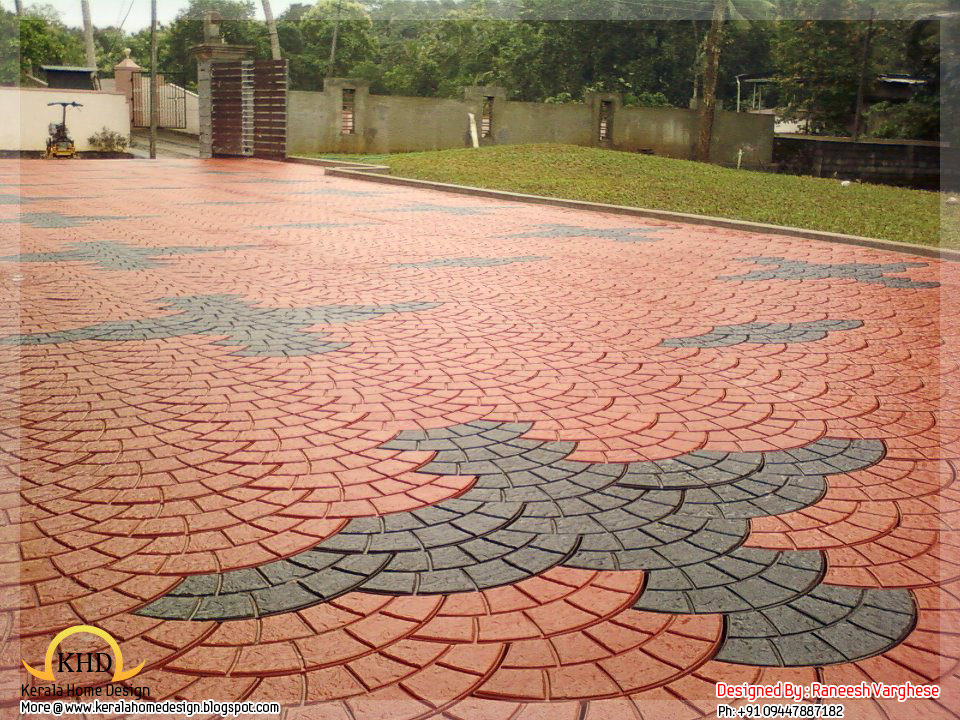 Landscaping design ideas - Kerala home design and floor plans