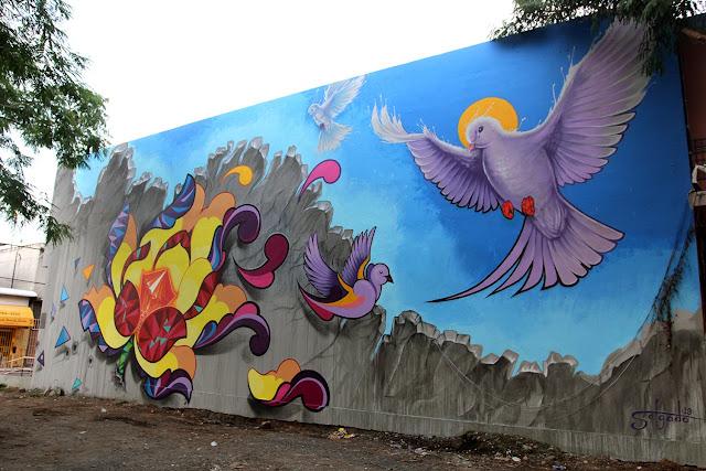 Street Art By Juan Salgado For Los Muros Hablan '13 In San Juan, Puerto Rico 1