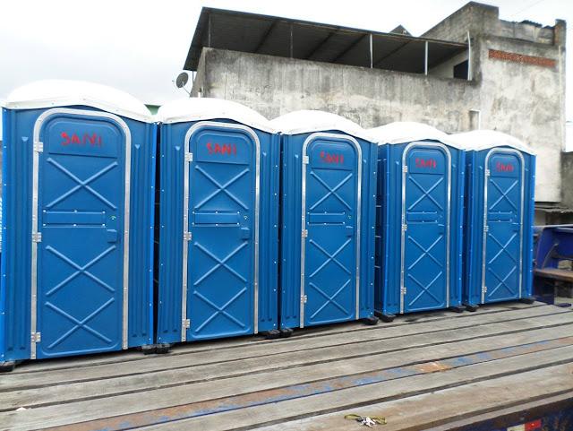 Até banheiros químicos são roubados em Salvador!!!