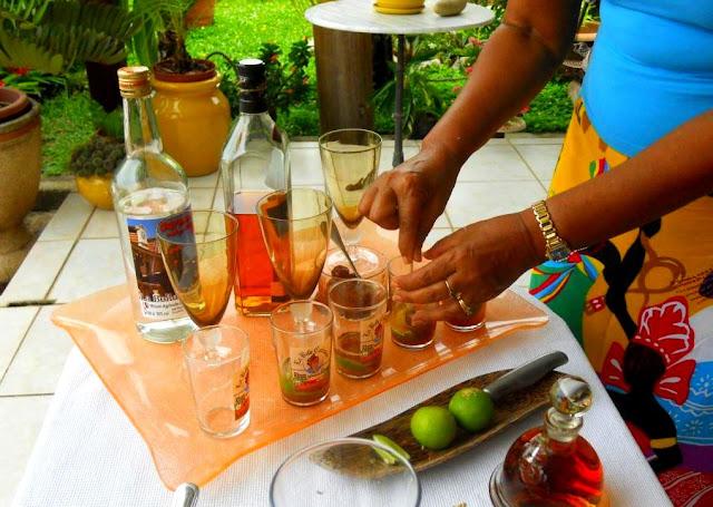 drank in frans-guyana, witte guyanses rum, zuid-amerikaanse rum