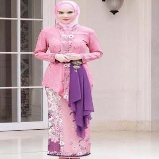 model baju kebaya pengantin berjilbab