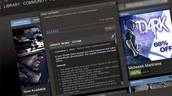 Steam Update (Güncelleme) Sorunu ve Çözümü