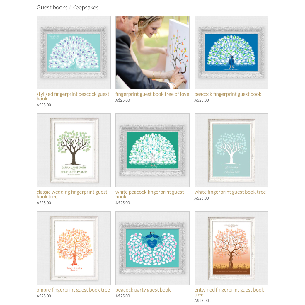 I do it yourself wedding guest book alternatives you can now find all of our wedding guest book alternatives online in our new look store from our hugely popular peacock guest book fingerprint trees to solutioingenieria Choice Image