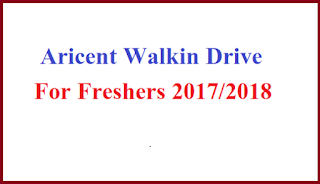 Aricent Walkin Drive For Freshers