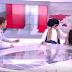 Ελένη Μενεγάκη: «Μπούκαρε» στο πλατό του δελτίου ειδήσεων (video)
