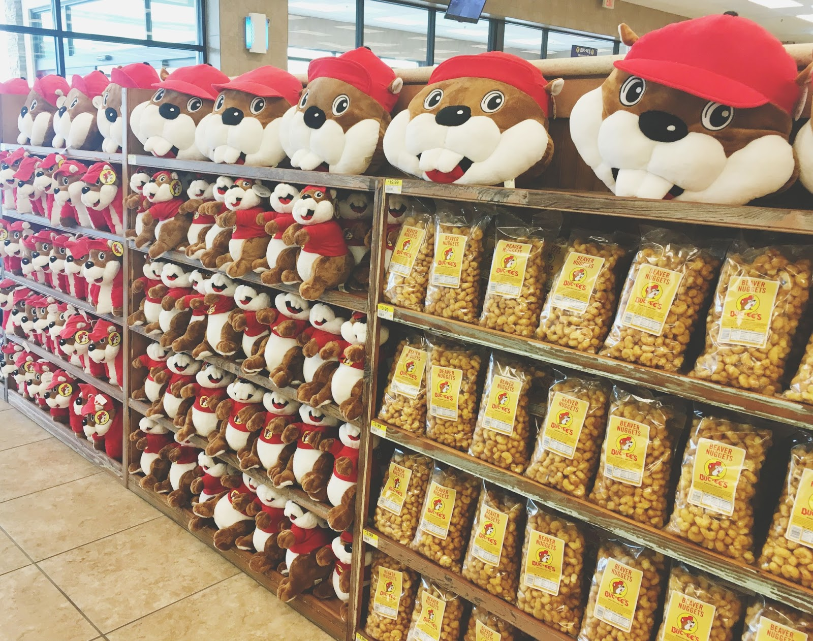 Buc-ee's outside of Austin, Texas