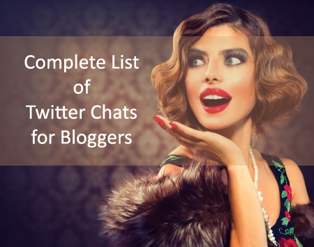 List of Best Twitter Chats for Bloggers