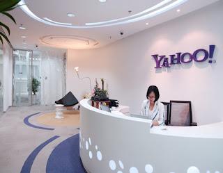 Thiết kế quầy lễ tân của văn phòng Yahoo