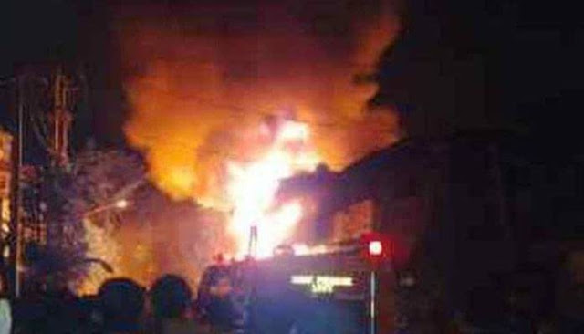 Kebakaran Hebat Sebabkan Dua Orang Penghuni Rumah Meninggal Dunia