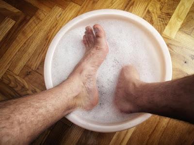 cara menghilangkan bau kaki secara alami dengan cepat