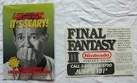 Final Fantasy VI - Folleto y publicidad