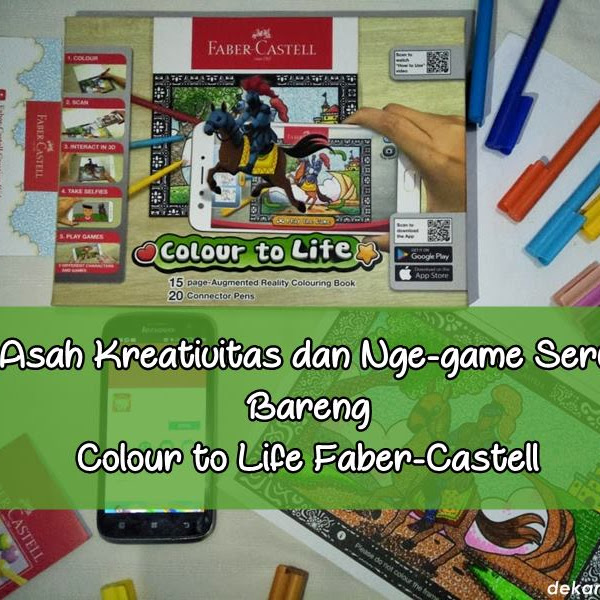 Asah Kreativitas dan Nge-game Seru Bareng Colour to Life Faber-Castell