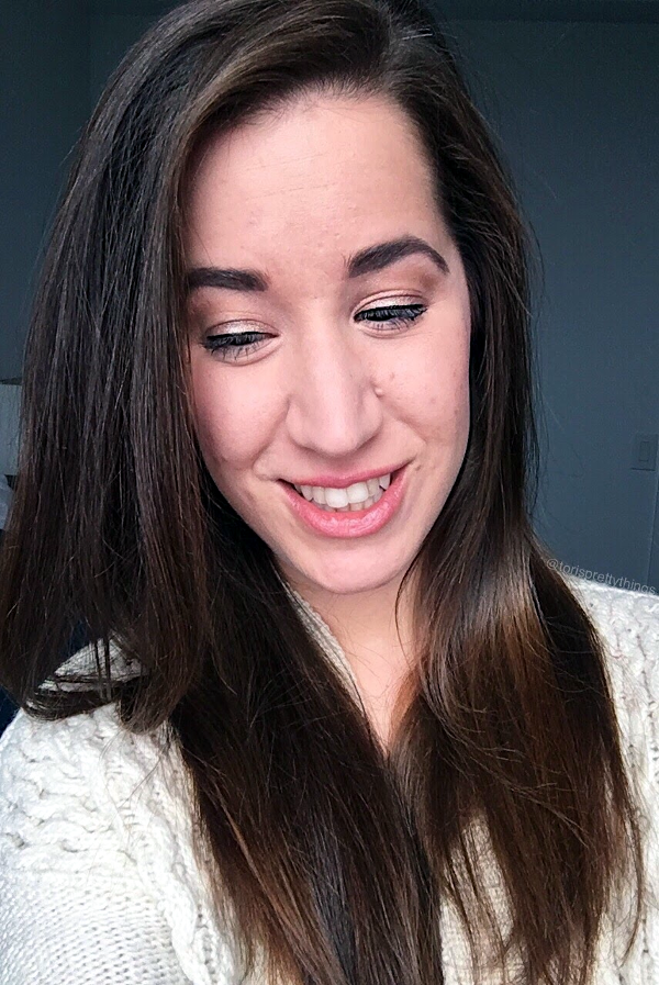Girl's Night makeup look using the Urban Decay original Naked Palette - Tori's Pretty Things Blog
