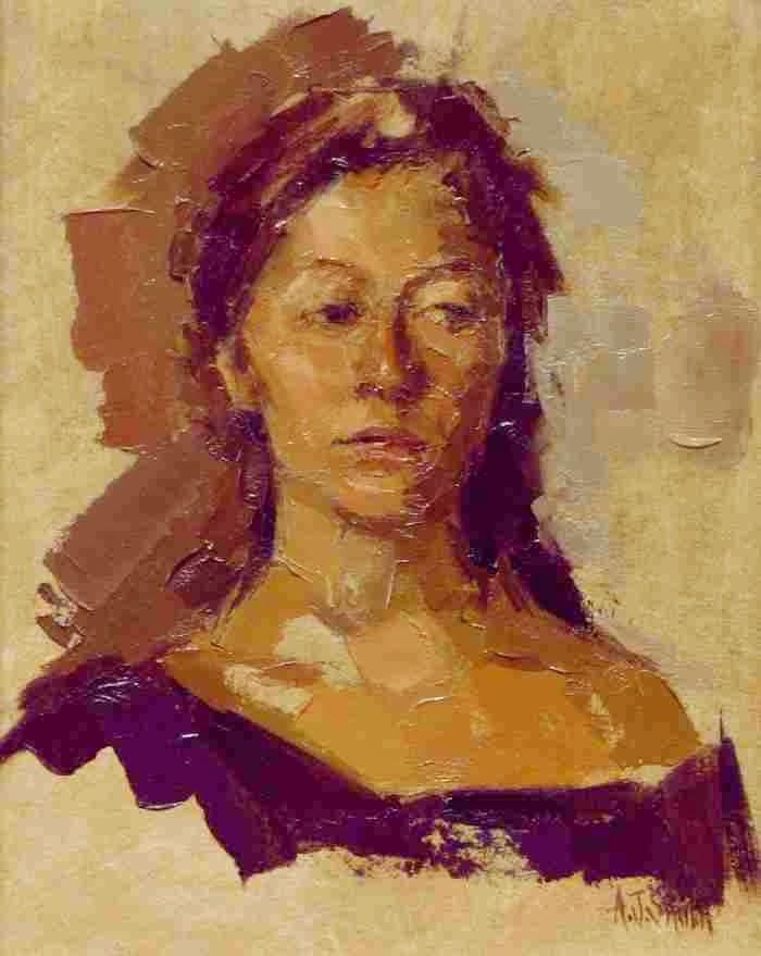 Австралийская художница. Andrea J. Smith