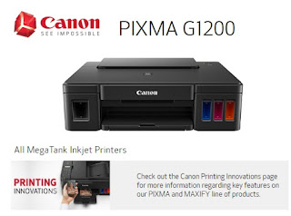 Canon PIXMA G1200 Printer Drivers Download App & Software Support for Windows, Mac and Linux