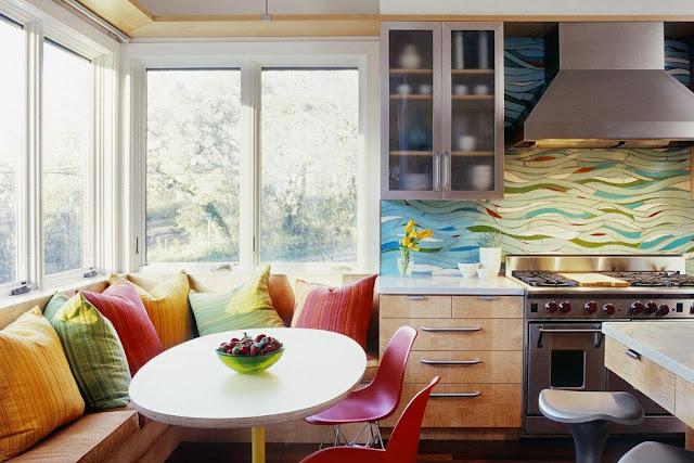 Frontal mosaico para la cocina