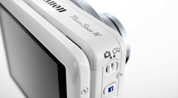 Canon PowerShot N Facebook Ready