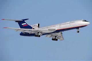 Pesawat Tu-154MLk-1 Rusia