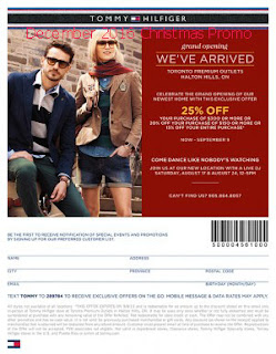 free Tommy Hilfiger coupons for december 2016