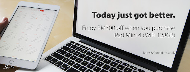 iPad Mini 4 WiFi 128GB Malaysia Price Discount Student Offer Promo