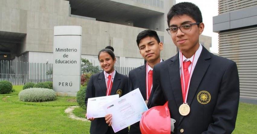 Tres escolares del COAR San Martín competirán en Olimpiadas de Normalización en Corea del Sur