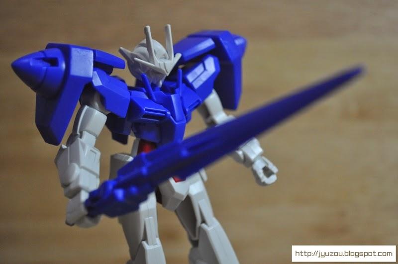 Jyuzou's Blog: Entry Grade GN-0000 00 Gundam Gunpla Unboxing & Review