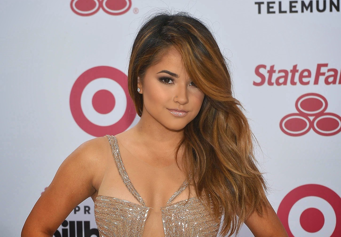 Becky G in a revealing outfit at the 2015 Billboard Latin Music Awards in Miami