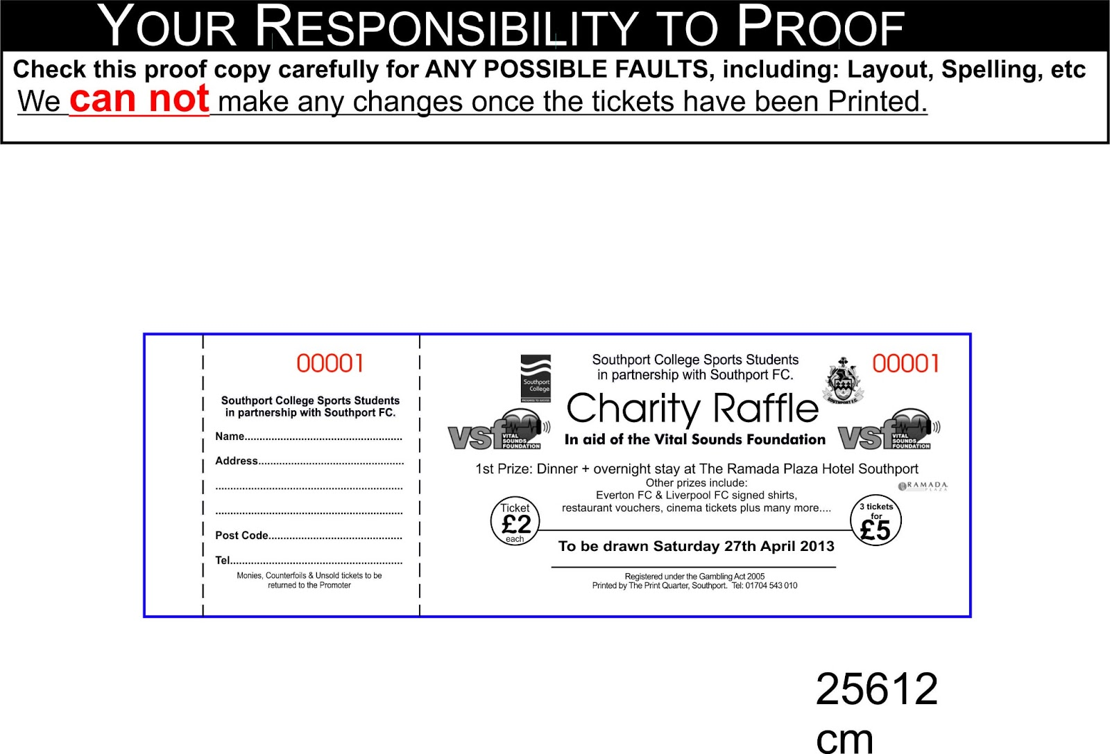 Charity Event for Vital Sounds 2013