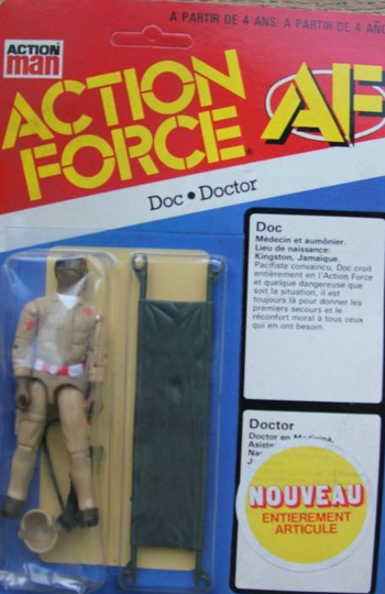 Action Force, Red Shadows, Palitoy, European Exclusive, Black Major, Baron Ironblood, Doc, Destro, Scarlett, accessory packs