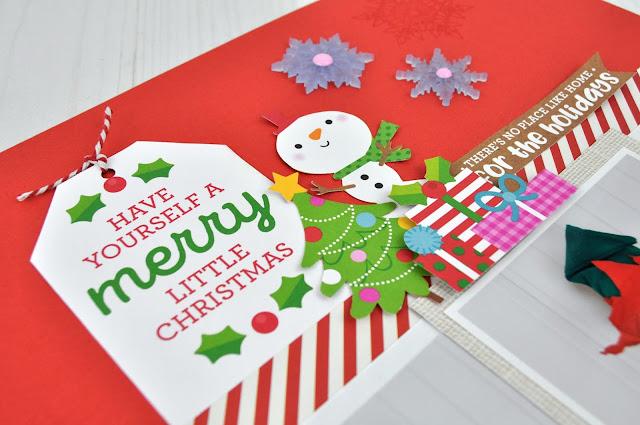 SCT Delivered November Scrapbooking Kit. Card designed by Jen Gallacher for Scrapbook and Cards Today Magazine. #sctmagazine #scrapbooking #jengallacher