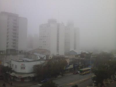 Niebla Necochea