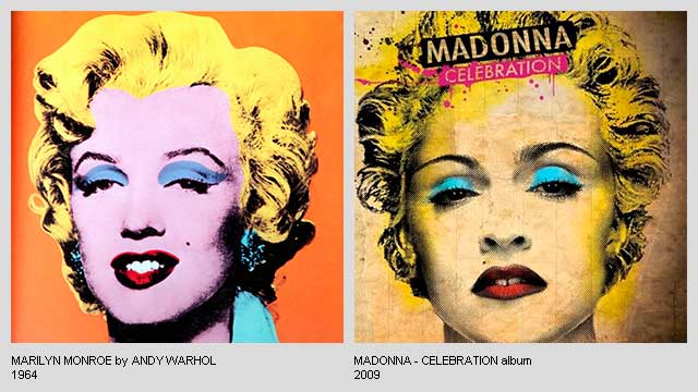 Marilyn-Monroe-by-Andy-Warhol-Celebration-Album-by-Madonna