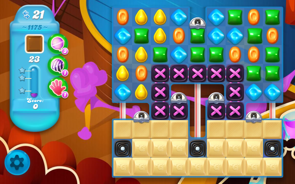 Candy Crush Soda Saga level 1175