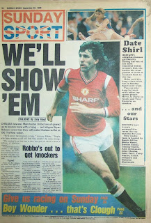 Back cover of Sunday Sport 28-9-86