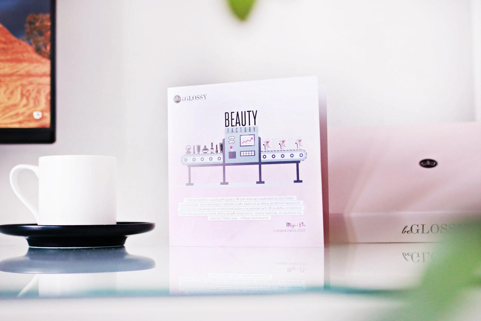 beGLOSSY Beauty Factory {przegląd pudełka wrzesień 2017}