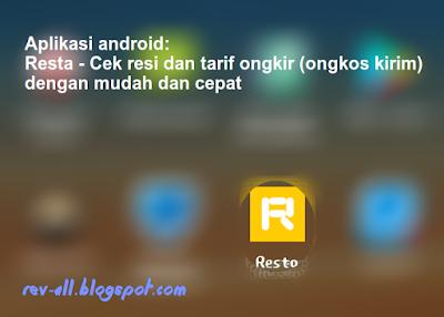 Ikon Resta - Cek resi dan tarif ongkir (ongkos kirim) dengan mudah dan cepat oleh rev-all.blogspot.com