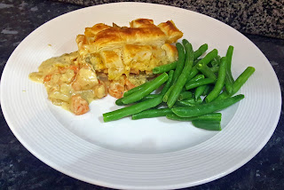 healthy chicken and vegetable pie recipe