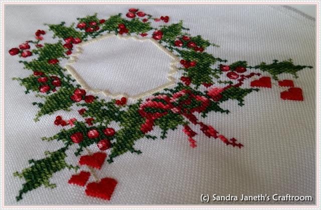 CNP - Warm Christmas Wishes, Navidad, Bordado