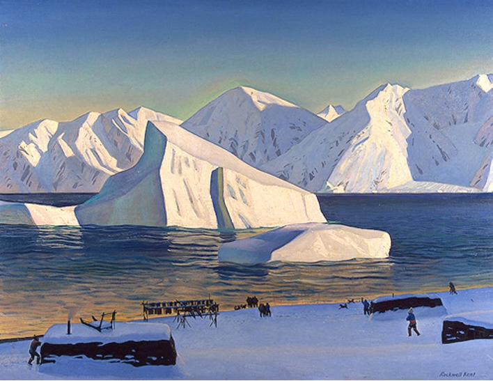 "Philip Koch Paintings: ""How to See"" by Rockwell Kent"
