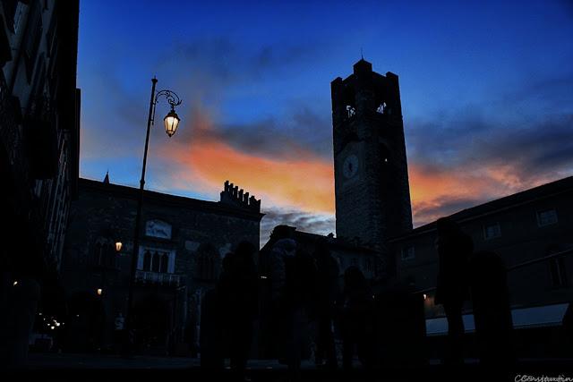 Bergamo - Citta Alta - la ceas de searã - blog FOTO-IDEEA