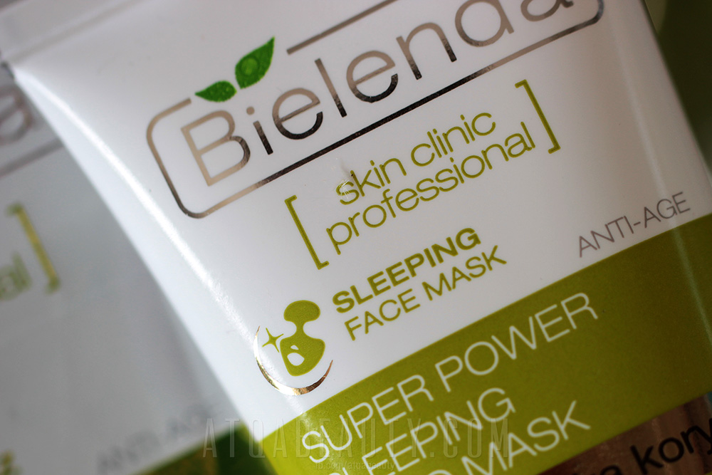 Bielenda, Skin Clinic Professional, Super Power Sleeping Mezo Mask, Aktywna maska korygująca ANTI-AGE na noc