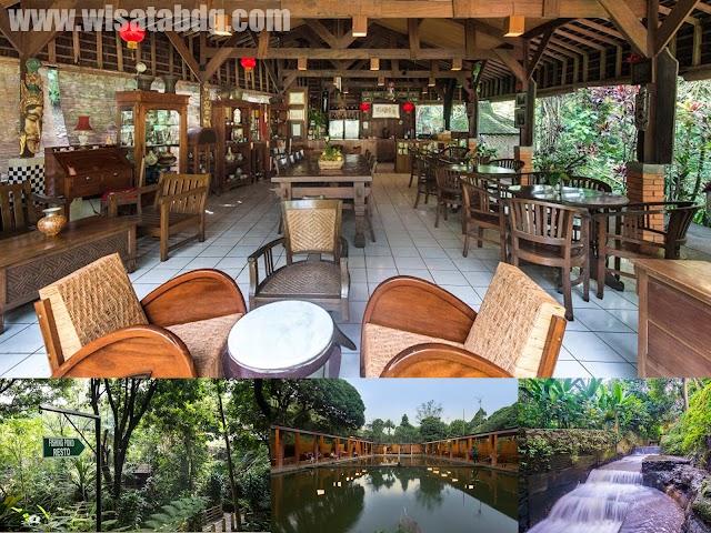 Saung Kemangi Resto, Tempat Kuliner Nan Asri di Cipaku