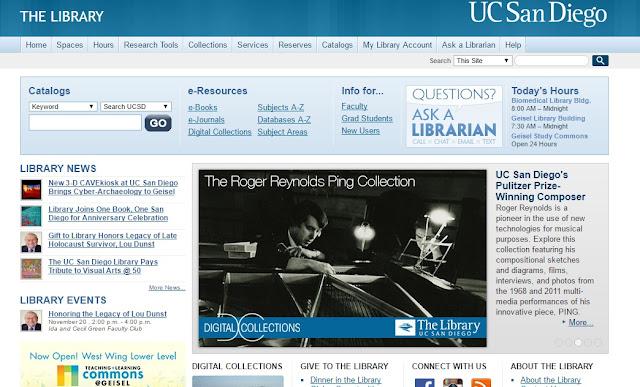 مكتبة UC San Diego