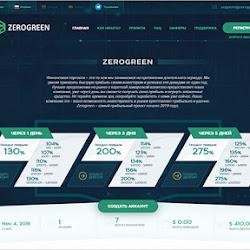 ZeroGreen (3 сезон): обзор и отзывы о zerogreen.net (HYIP платит)